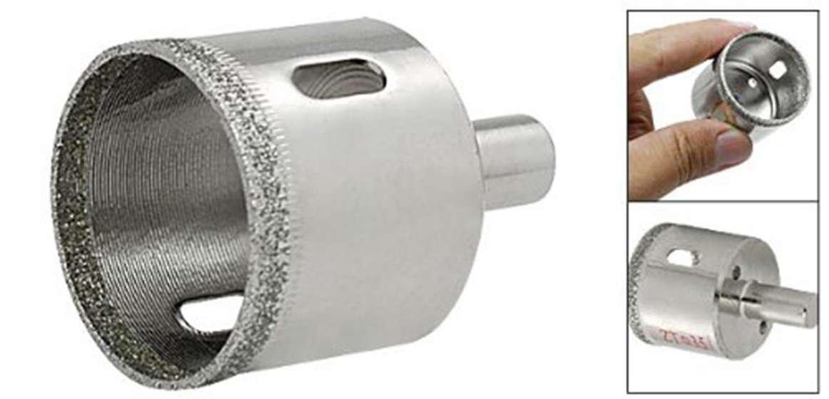 Cikuso Sierra Cortador de Agujero 35mm para Diamante Vidrio Ceramica