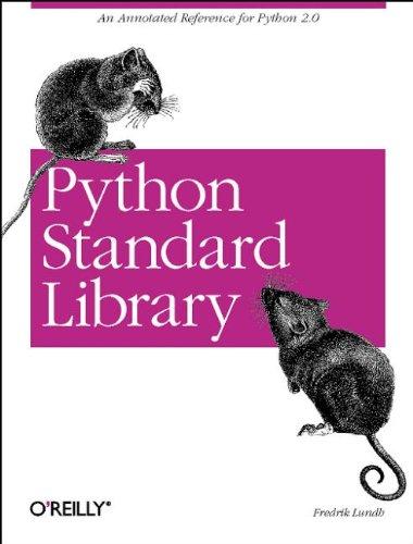Python Standard Library (Nutshell Handbooks) with