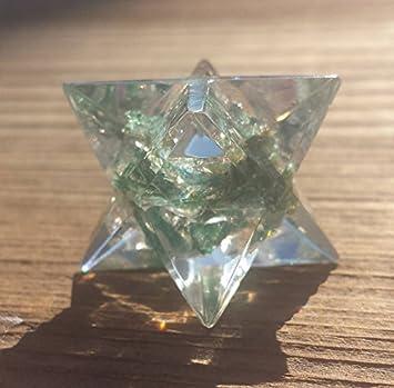 Amazon com : [A&S Crystals] ORGONE JADE Gemstone Merkaba Star Orgone