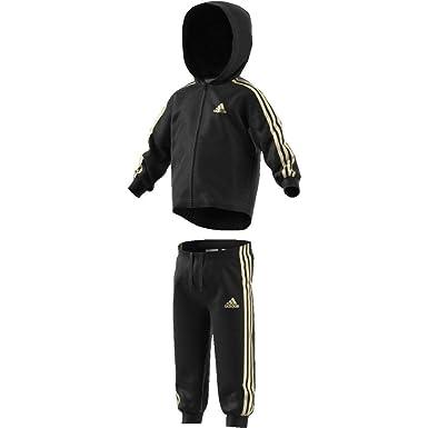 gute Textur Freiraum suchen neuer Stil adidas Kinder Shiny Jogginganzug mit Kapuze Trainingsanzug