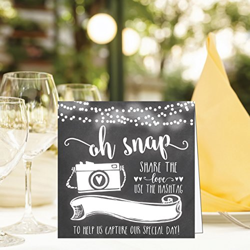 Chalkboard Wedding Signs.25 Chalkboard Wedding Hashtag Signs Vintage Chalk Table Top Place Cards Or Photo Booth Oh Snap Sign Quotes For Wedding Wedding Reception Or