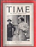 Time Magazine 1939 October 9 Queen Elizabeth