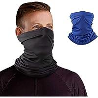 Neck Gaiter Headband Tube Bandana Elastic Scarf Sunscreen Balaclava Wicking Face Mask Dust Sun UV Protection Fishing Hiking Motorcycle Cooling Helmet Liner Men Women