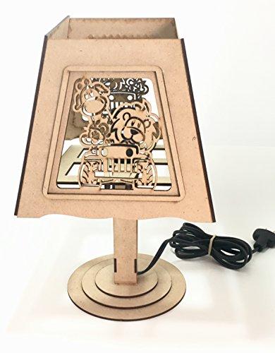 Lámpara Infantil, Centro De Mesa, Mesa De Dulces P Fiesta!!1 pieza
