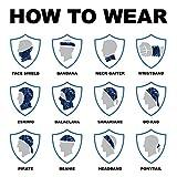 Salt Armour Face Mask Shield Protective Balaclava Bandana...