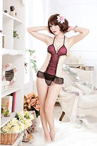 Gr HQ8749 Frauen Sexy Dessous Set Sexy Unterwäsche Nachtwäsche JIPBT2