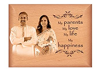 7771a9ae00 Buy The Love Moments Wooden Photo Frame for Personalised Gift(4x5 ...