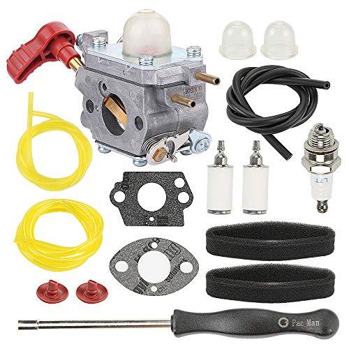 Hayskill 753-06288 Carburetor Tune Up Kit for MTD Troy Bilt TB2044XP TB2040XP TB35EC TB2MB TB430 Murray M25B M2560 MS2550 MS2560 MS9900 String Trimmer Leaf Blower Carb