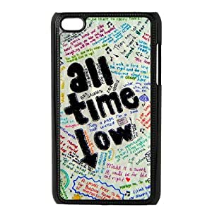 YUAHS(TM) Custom Phone Case for Ipod Touch 4 with All Time Low YAS330226