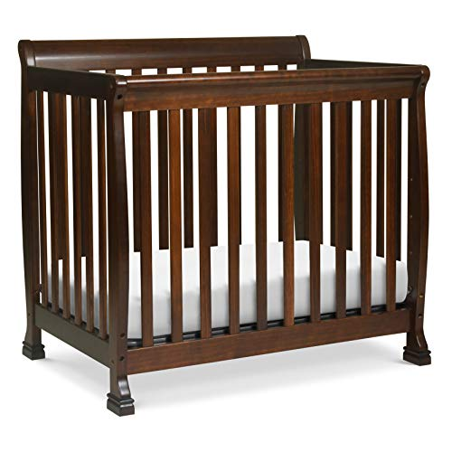 (Davinci Kalani 4 in 1 Convertible Mini Crib and Twin Bed, Espresso)