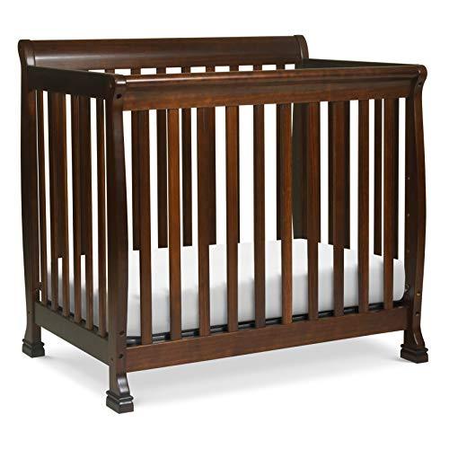 Davinci Kalani 4 in 1 Convertible Mini Crib and Twin Bed, -