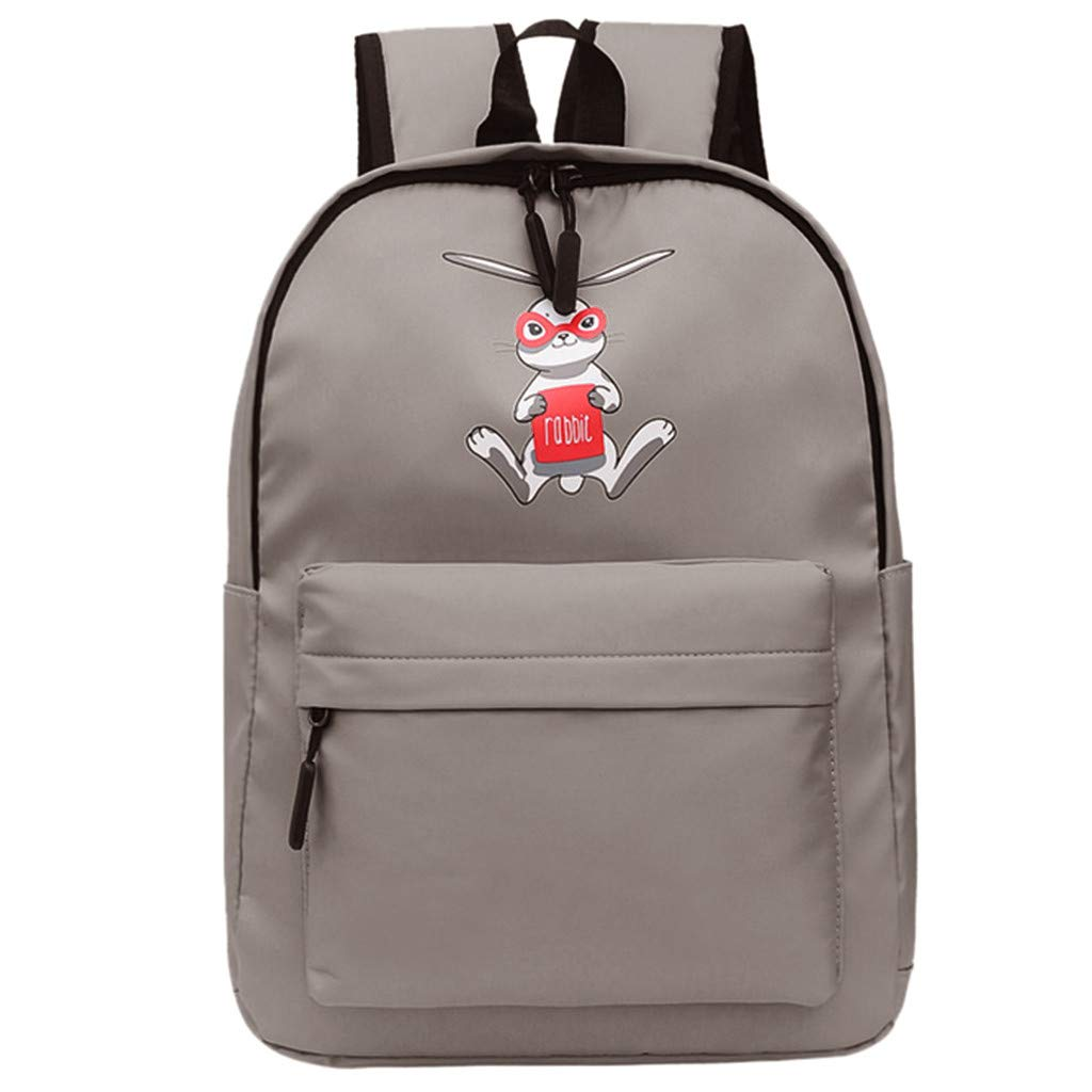 b4cbdb964a00 Amazon.com: DEESEE(TM)🍁🍁Female Bag Student Backpack Large Capacity ...