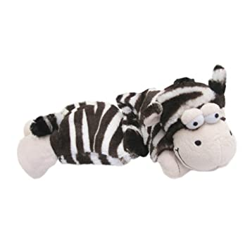 Warmies Plush Zebra Thermal Neck Da