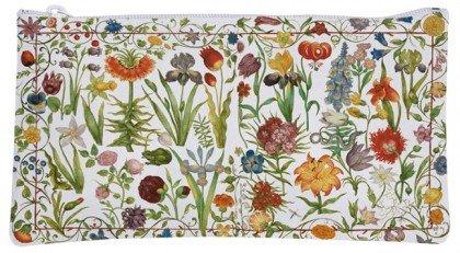 Kosmetiktäschchen Knautschi Etuitasche Gartenblumen