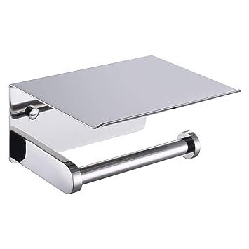 Amazon.com: Soporte de papel higiénico APL, SUS304 de acero ...