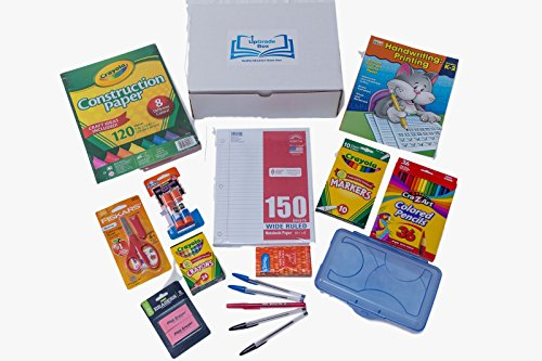 Amazon.com : School Supplies Mega Box With Worksheets For ...