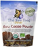 Raw Organic Cacao Powder, 16oz, 'The Raw Food World'