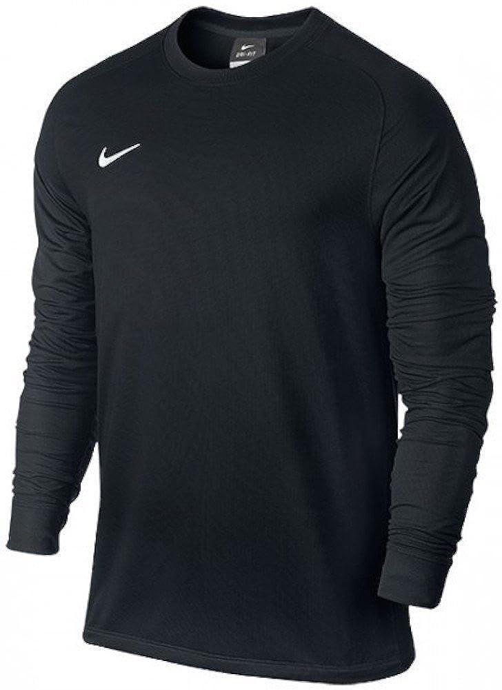 7da1baf80 Amazon.com : Nike Men's Long Sleeve Park Goalie II Soccer Goalkeeper Jersey  (Large) Black : Soccer Jerseys : Clothing