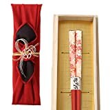 21.0cm Wakasa paint chopsticks Japanese paper cherry 025 100