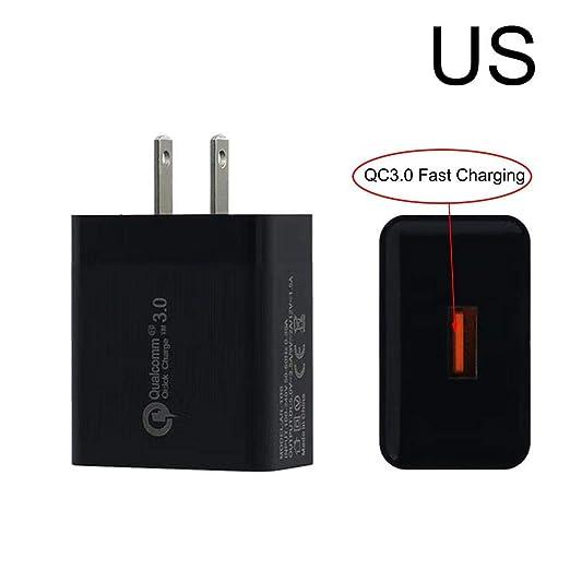 D.ragon Quick Charge 3.0 5V 3A Adaptador rápido para ...