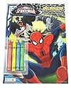 Marval Ultimateスパイダーマンスーパーカラーリングandアクティビティブックwith 4Jumboクレヨンの商品画像