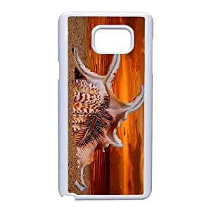 Custom Phone Case with Conch Image On The Back Fit To Samsung Galaxy Note 5