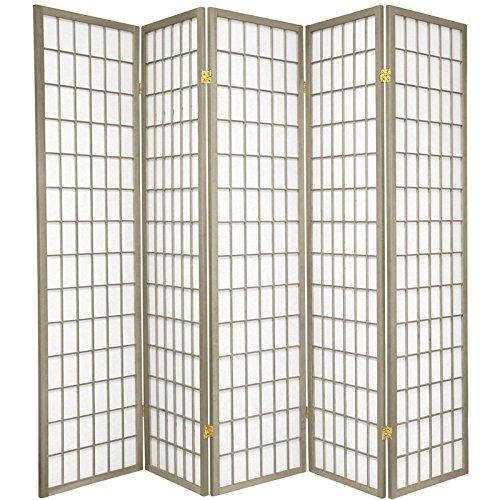 Tall Window Pane Shoji Screen Oriental Furniture 6 ft Special Edition