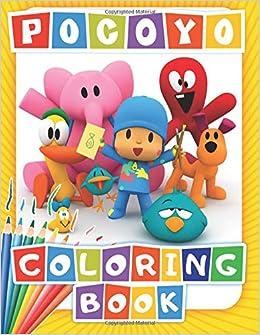 POCOYO Coloring Book: 48 Exclusive Illustrations: Activity ...