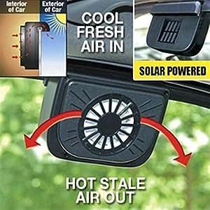 Car Cooling Solar Fan