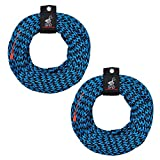 Airhead 3-Rider Tube Boating Towing Rope 60 Feet Long | AHTR-30 (2 Pack)