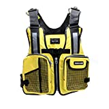 Amairne-made Boat Buoyancy Aid Sailing Kayak Fishing Life Jacket Vest – D11 – Yellow For Sale