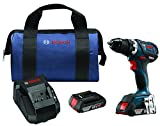 Bosch DDS183-02 18V EC Brushless Compact Tough 1/2'' Drill/Driver Kit