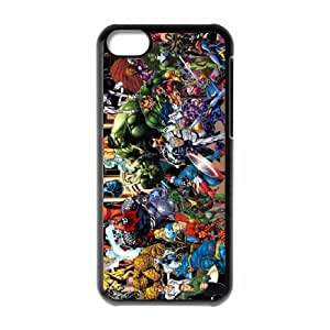 IPhone 5C Phone Case for The Avengers pattern design