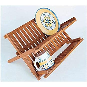 Amazon Com Totally Bamboo Eco Dish Drying Rack Utensil