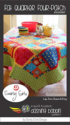 Four-Patch Fat Quarter Multiple Sizes - by Swirly Girls Design for $<!--$9.95-->