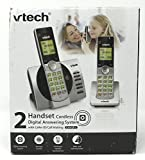 VTech CS6929-2 DECT 6.0 Cordless Digital Answering System w/ Caller ID Silver