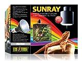Exo Terra SunRay Reptile Metal Halide Bulb and Holder 50 Watt Uva Uvb Heat All in 1