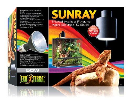 Exo Terra Sunray Light Fixture, 50-watt by Exo Terra