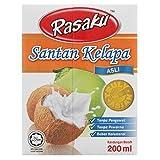 Rasaku Original Coconut Milk 200ml (628MART) (3 Packs)