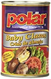MW Polar Seafood, Whole Baby Clams, 10-Ounce (Pack of 12)