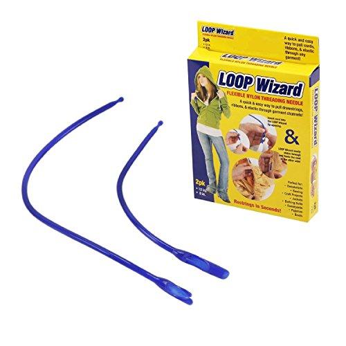 Loop Wizard Flexible Nylon Threading Needle - 2 count