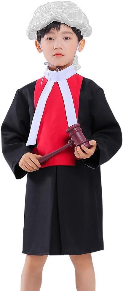 MASII Disfraz De Juez Infantil Disfraz De Abogado Profesional ...