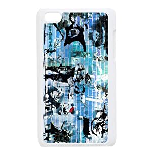 Popular graffiti art mural Banksy PC phone Case Cover FOR IPod Touch 4 CDAF468792