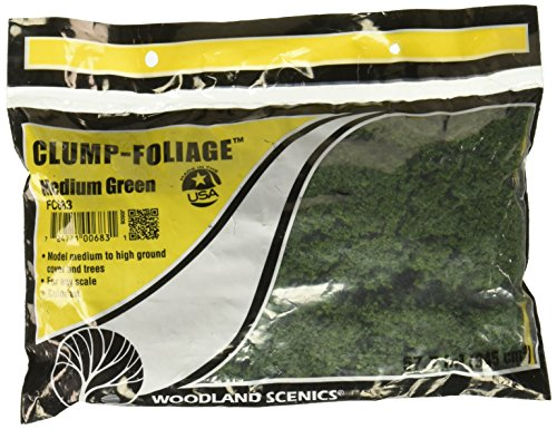 Clump Foliage 57.7 Cubic Inches-Medium Green ()