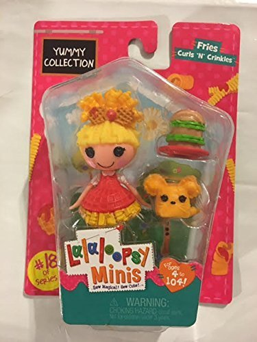 Lalaloopsy Minis Yummy Collection -Fries Curls 'N' Crinkles