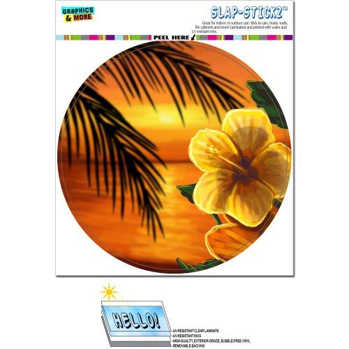 Beach Sunset Hibiscus Flower SLAP STICKZ