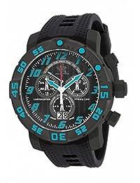 Invicta 17534 Men's Sea Base Titanium Black Polyurethane Watch