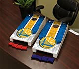 Victory Tailgate Golden State Warriors NBA Desktop Mini Cornhole Game Set