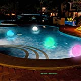 Paradise Treasures Light up Beach Ball with Color Changing LED