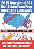 2019 Maryland PSI Real Estate Exam Prep Questions and Answers: Study Guide to
